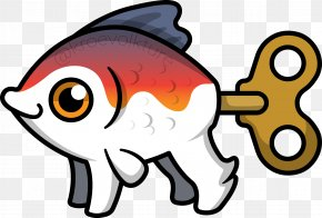 Dead Fish - Fish Beak Cartoon Organism Clip Art PNG