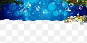 Snow Glitter - Merry Christmas Happy New Year Christmas Background PNG
