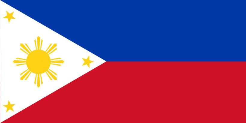 Flag Of The Philippines National Flag Country, PNG, 999x500px, Philippines, Area, Blue, Brand, Coat Of Arms Of The Philippines Download Free