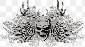 Skull - Skull Euclidean Vector Download PNG