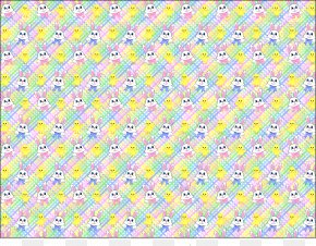 Easter Background Cliparts - Textile Yellow Area Pattern PNG