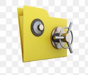 Password On The Folder - Paper File Folder Illustration PNG