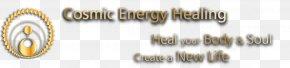 Cosmic Energy - Brass 01504 Body Jewellery Line Font PNG