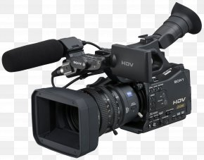 Film Camera - HDV Camcorder High-definition Video Video Camera PNG