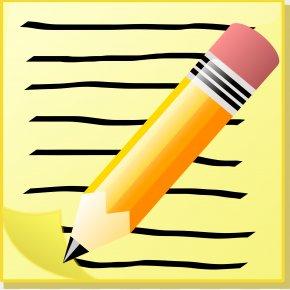 Small Notepad Cliparts - Text Clip Art PNG