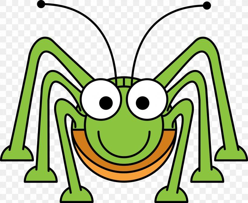 Cartoon Grasshopper Clip Art, PNG, 2400x1962px, Watercolor, Cartoon, Flower, Frame, Heart Download Free