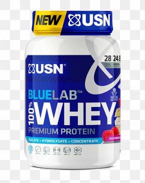 Raspberry White Chocolate - Dietary Supplement Milkshake USN BlueLab 100% Whey Whey Protein PNG