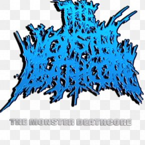 Tree - Tree Leaf Deathcore Electric Blue Clip Art PNG