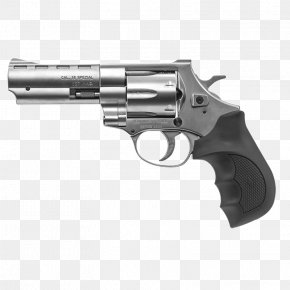 Handgun - European American Armory Revolver .38 Special .357 Magnum Firearm PNG