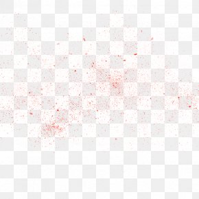 Red Powder Particles - Pattern PNG