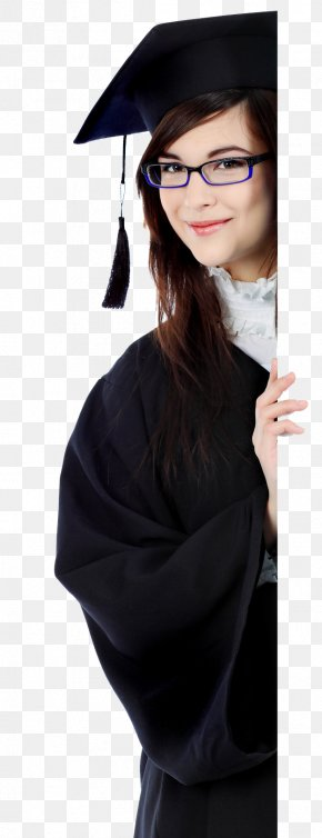 Glasses - Graduation Ceremony Glasses Square Academic Cap Shoulder PNG