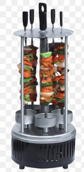 Electric Tandoor Barbeque Grill - Barbecue Grilling Kebab Shashlik Rotisserie PNG