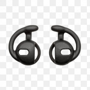 Headphones - SureFire Apple Earbuds Headphones Flashlight PNG