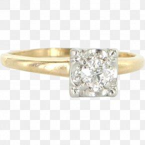 Diamond - Diamond Engagement Ring Jewellery Carat PNG