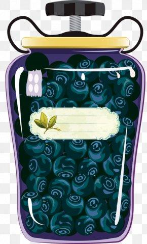 Canned Blueberries - Juice Varenye Marmalade Kompot Fruit Preserves PNG