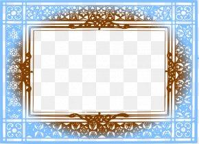 Brown Border Frame File - Picture Frame Clip Art PNG