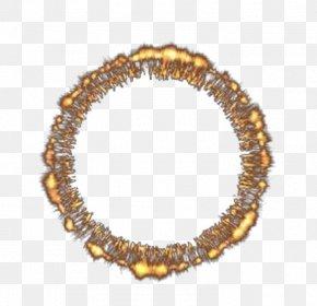 Golden Aperture Burning Ring - Light Aperture Gold PNG