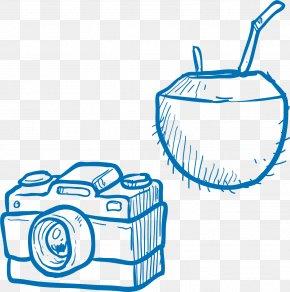 Camera Pottery Vector Elements - Camera PNG