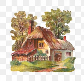 Cottage - Cottage English Country House Clip Art PNG