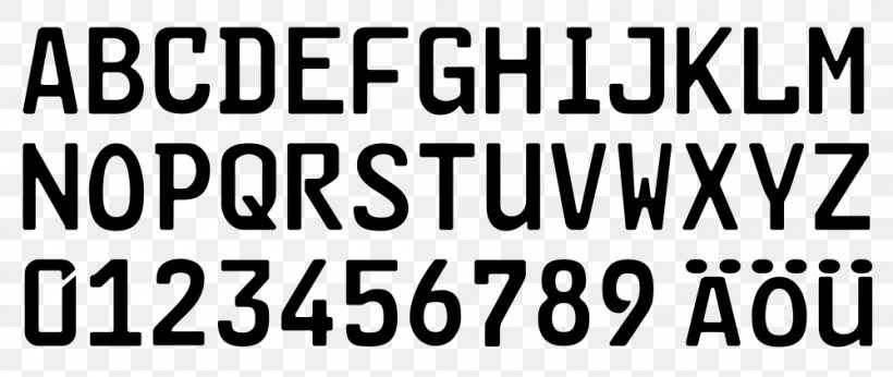 Open-source Unicode Typefaces FE-Schrift MyFonts Font, PNG, 1000x422px, Opensource Unicode Typefaces, Area, Black, Black And White, Brand Download Free