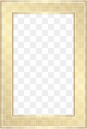 Border Frame Transparent Clip Art Image - Square Picture Frame Area Text Pattern PNG