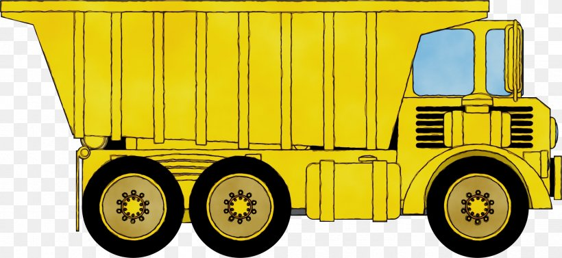 Watercolor Background, PNG, 2335x1075px, Watercolor, Articulated Hauler, Car, Construction, Dump Truck Download Free