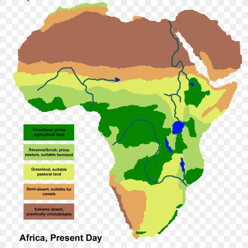 Geography Detailed Map Of Africa.Africa Savanna Map Grassland Geography Png 1320x1320px Africa