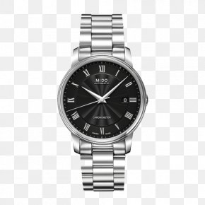 Mido Watches Baroncelli - Automatic Watch Mido Chronometer Watch Strap PNG