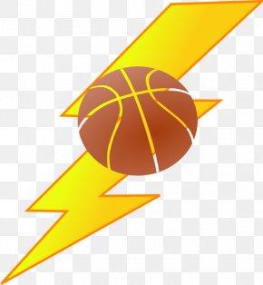 Thunder Basketball Cliparts - Oklahoma City Thunder Basketball Clip Art PNG