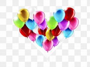 Magenta Love - Heart Balloon Love Heart Magenta PNG