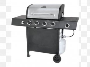 Outdoor Grill - Barbecue Grilling Gas Burner Food RevoAce GBC1748 PNG