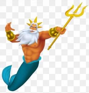 King Triton Transparent PNG Clip Art Image - King Triton's Carousel Of The Sea Ariel The Little Mermaid The Prince PNG