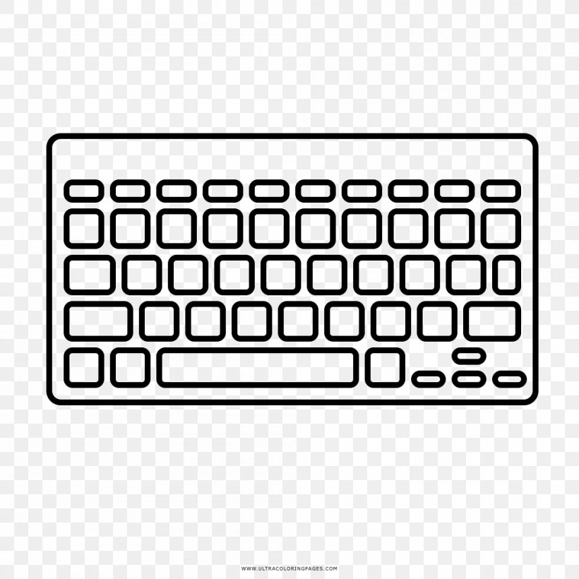 Computer Keyboard Numeric Keypads Space Bar Drawing Png 1000x1000px Computer Keyboard Area Brand Coloring Book Computer