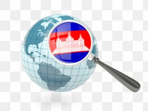 Flag Of Cambodia - Globe World Map Stock Photography Flag Of Vietnam PNG