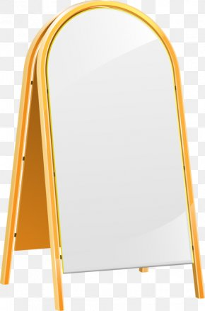 Retro Summer Sale Mirror - Easel Drawing Painting Clip Art Image PNG