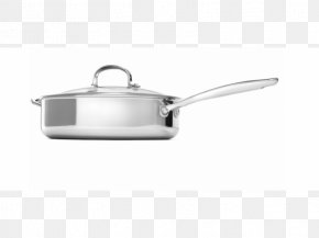 Frying Pan - Frying Pan Stainless Steel Saltiere Lid Stock Pots PNG