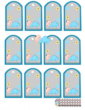 Free Baby Shower Borders - Baby Shower Wedding Invitation Gift Clip Art PNG