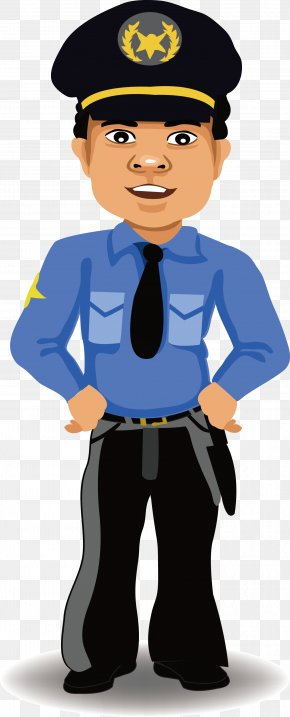 People's Police Vector - Police Officer Cartoon Security PNG