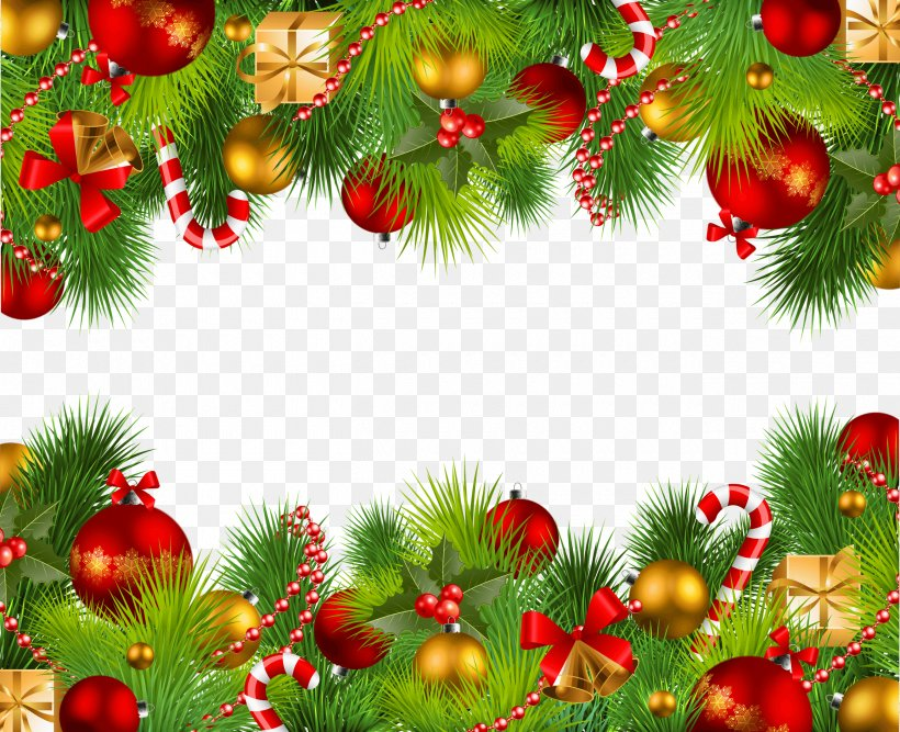 Christmas Clip Art, PNG, 2600x2118px, Santa Claus, Branch, Christmas, Christmas Decoration, Christmas Ornament Download Free