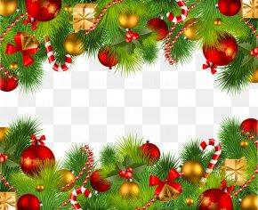 Christmas Border - Christmas Clip Art PNG