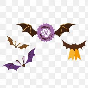 Halloween Bat - Bat Halloween Clip Art PNG