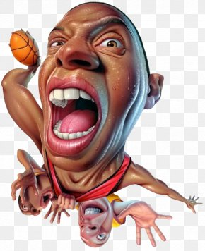 3d Cool Cartoon Basketball Player - Milwaukee Illustrator Work Of Art Illustration PNG