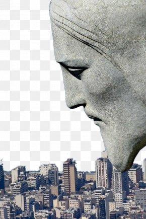 Rio De Janeiro And The City As A Giant Jesus - Christ The Redeemer Corcovado Centro, Rio De Janeiro Turismo No Rio De Janeiro New7Wonders Of The World PNG