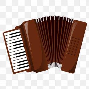 Art Piano Keyboard - Diatonic Button Accordion Musical Instrument Mariachi Musical Keyboard PNG