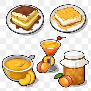 Apricot Food - Food Fruit Preserves Illustration PNG