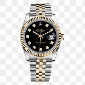 Rolex Watch Watches Black Male Table - Rolex Datejust Rolex Submariner Rolex Sea Dweller Watch PNG