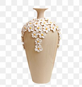 Vase - Vase Decorative Arts Ceramic Ornament PNG