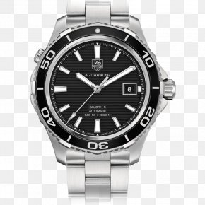 Watch - TAG Heuer Aquaracer Calibre 5 Watch Chronograph PNG