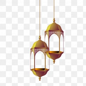 Vector Hollow Chandelier - Quran Ayah Euclidean Vector PNG