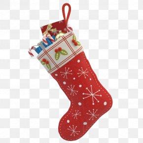 Christmas Stocking Photos - Santa Claus Christmas Stocking Gift Christmas Ornament PNG